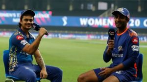 """T-20: Ishan Kish, who hit a long six, said, """"This strength comes from eating mother's hand."""""""