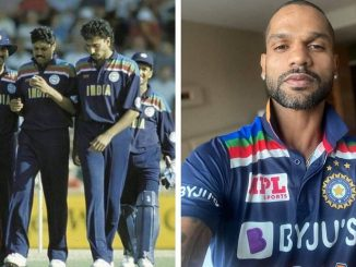 IND vs AUS: Team India to play in separate jerseys against Australia, share photo with Shikhar Dhawan, see