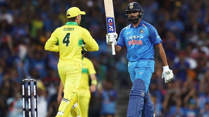 India-australia one day series no romanch charamsima par match ni ticketo minito ma j vechai gai