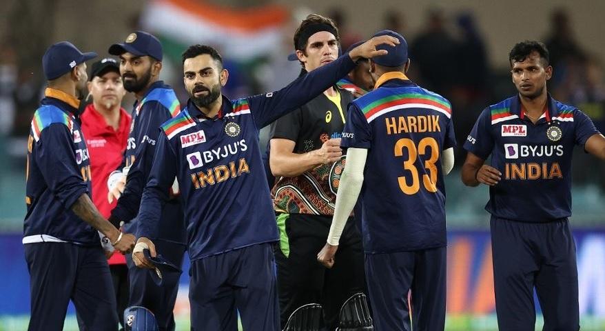 Ind v aus Series par kabjo karvana utsah thi bharpur che team india biji match jitva na mood thi utarse bharat