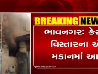 Fire breaks out in house in Kresant area, no casualty reported Bhavnagar