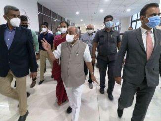 Gujarat Dy CM Nitin Patel inaugurates New Kidney hospital in Ahmedabad