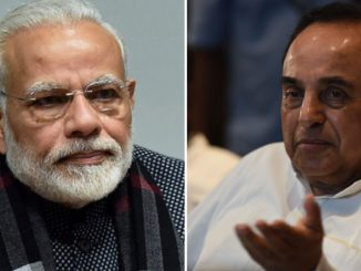 Change the National Anthem, a letter to Prime Minister Modi, written by Subramaniam Swamy